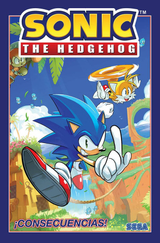 Sonic the Hedgehog: Fallout Consecuencias (Spanish Edition)