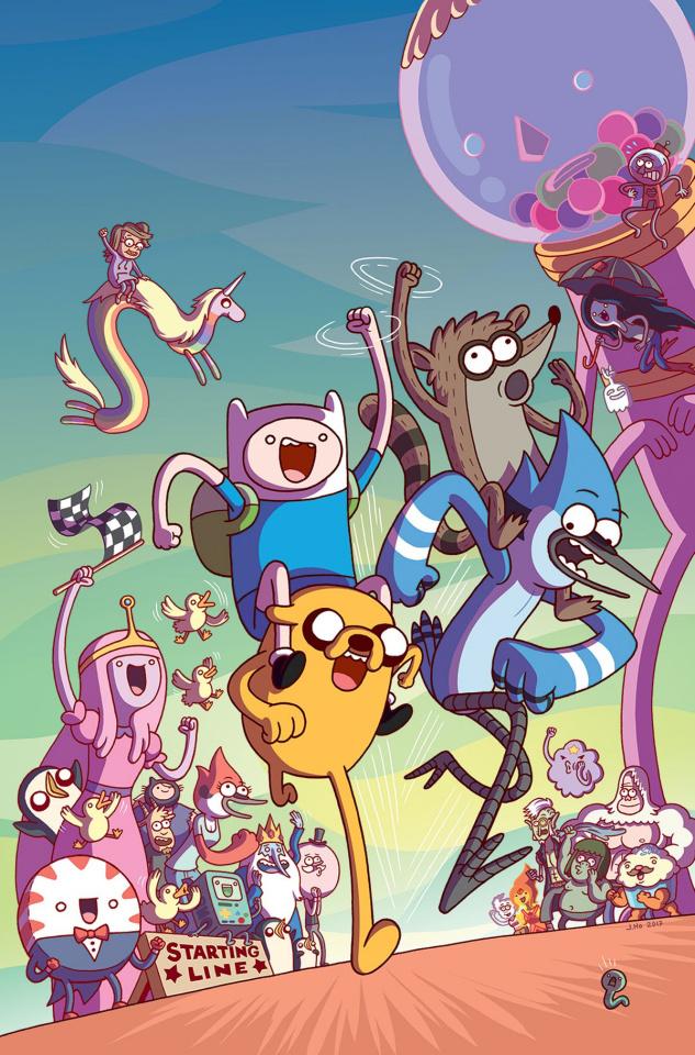 Adventure Time: Regular Show #2 (10 Copy Jason Ho Cover)