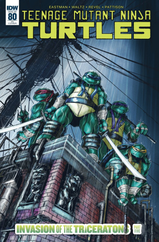 Teenage Mutant Ninja Turtles #80 (10 Copy Cover)