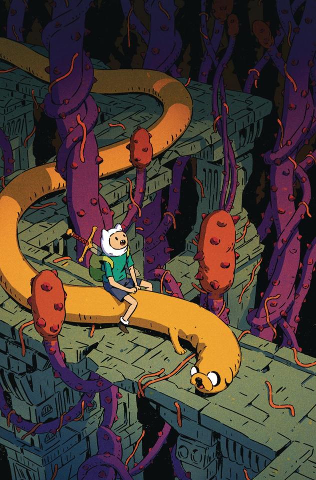 Adventure Time Comics #25 (Subscription Bak Cover)