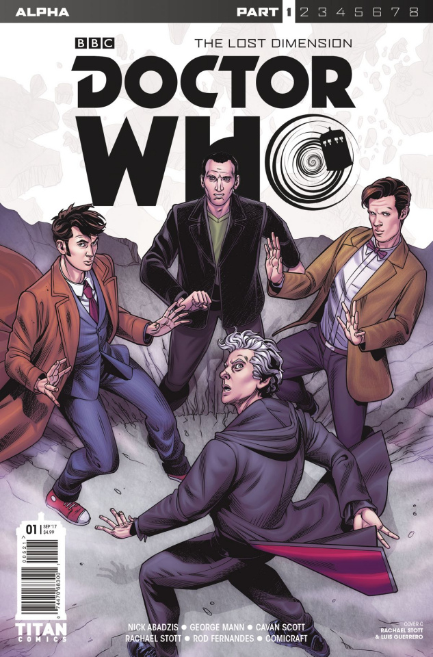 Doctor Who: The Lost Dimension Alpha #1 (Stott Cover)