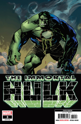 The Immortal Hulk #3 (Brown 4th Printing)