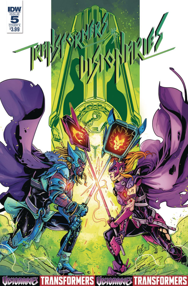 The Transformers vs. The Visionaries #5 (Ossio Cover)
