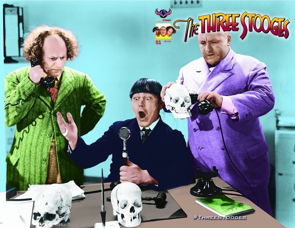 The Three Stooges: The Curse of Frankenstooge (Photo Cover)