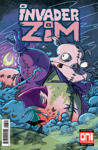 Invader Zim #27 (Rausch Cover)