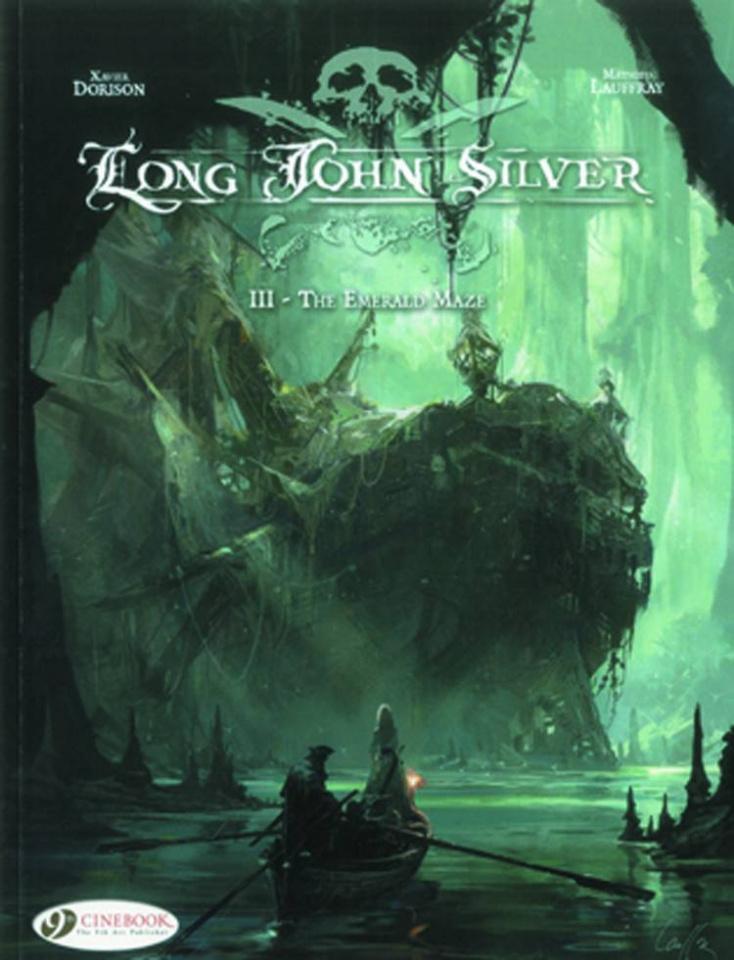 Long John Silver Vol. 3: The Emerald Maze