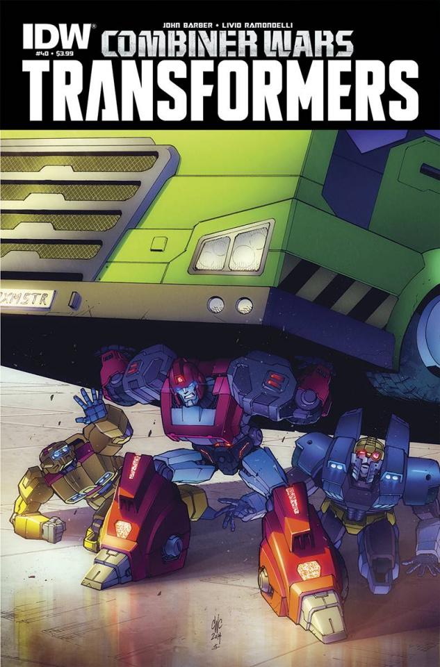 The Transformers #40: Combiner Wars
