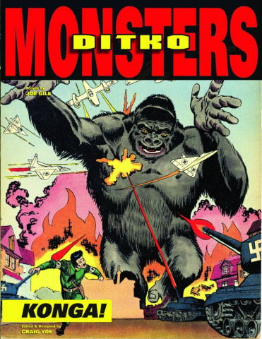 Steve Ditko: Monsters Vol. 2: Konga