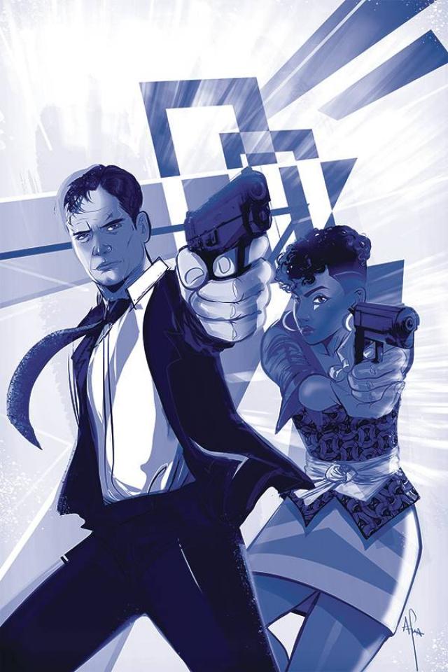 James Bond #6 (15 Copy Richardson Tint Virgin Cover)