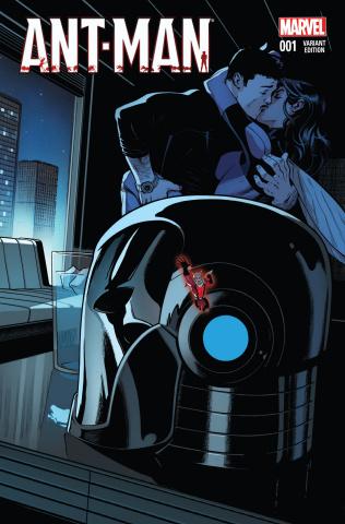 Ant-Man #1 (Shrinking Cover)