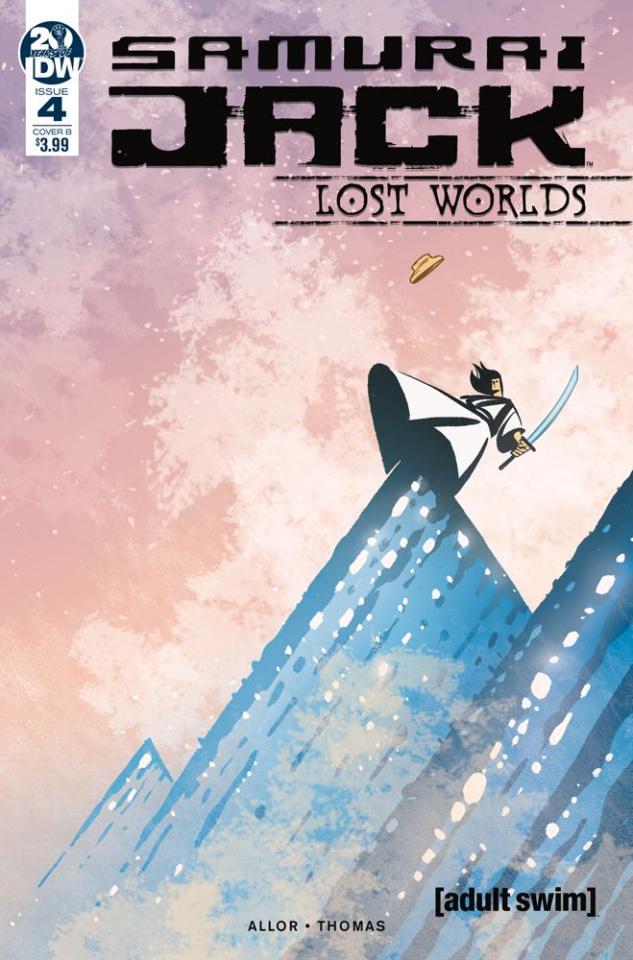 Samurai Jack: Lost Worlds #4 (Fullerton Cover)