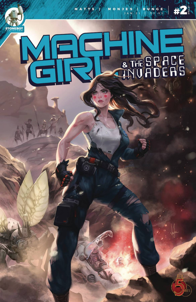 Machine Girl & The Space Invaders #2