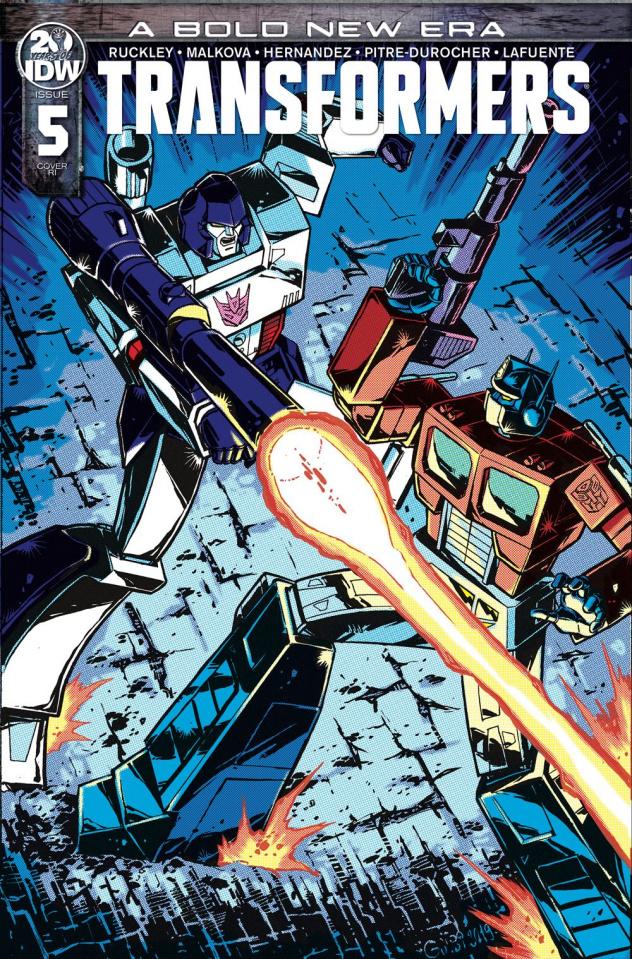 The Transformers #5 (10 Copy Guidi Cover)