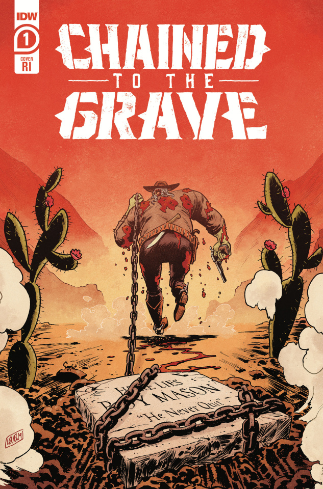 Chained to the Grave #1 (10 Copy Level Cover)