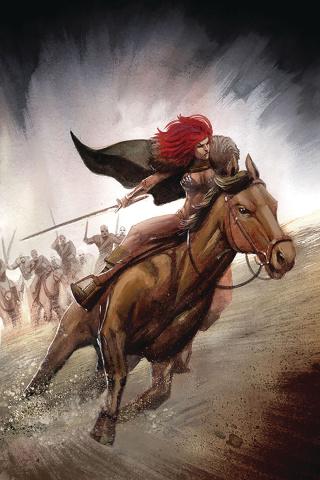 Red Sonja #14 (40 Copy Bob Q Virgin Cover)