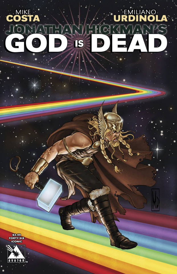 God Is Dead #46 (Iconic Cover)