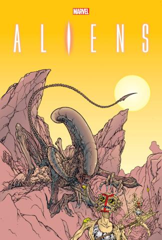 Aliens: The Original Years Vol. 2 (Omnibus Mendoza Cover)
