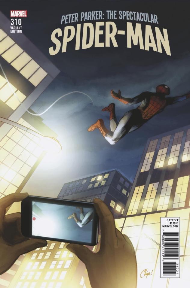 Peter Parker: The Spectacular Spider-Man #310 (Zdarsky Cover)
