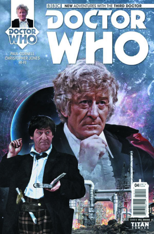 Doctor Who: New Adventures with the Third Doctor #4 (Photo Cover)