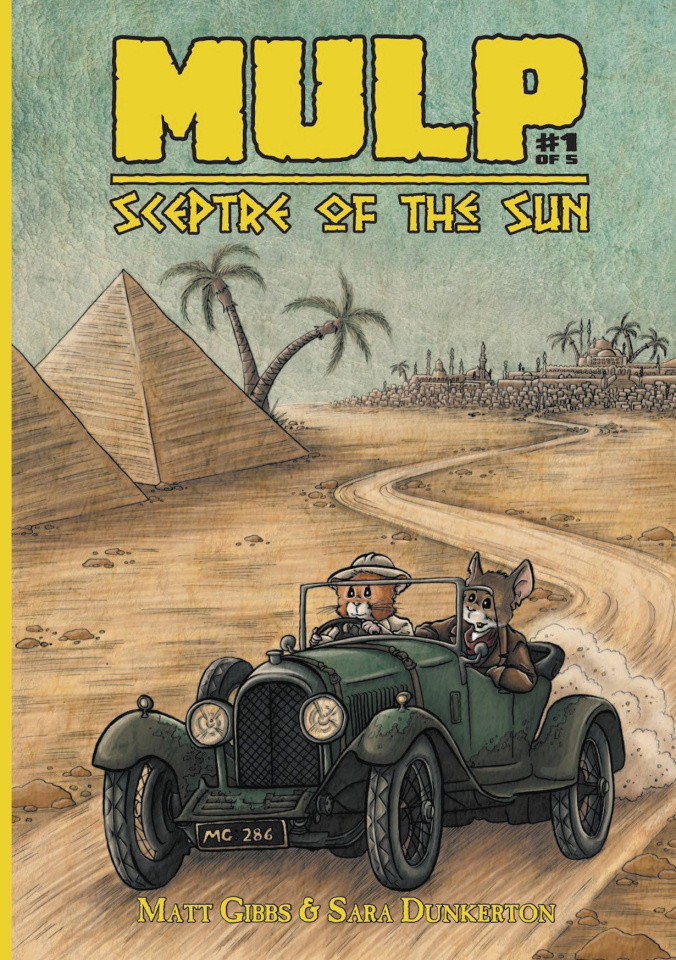 Mulp: Sceptre of the Sun #1