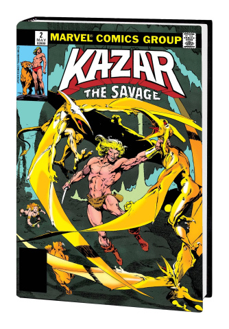 Ka-Zar the Savage (Omnibus Anderson Action Cover)