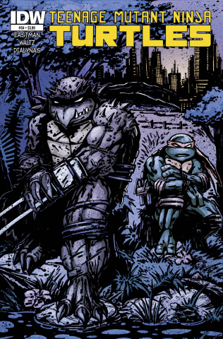 Teenage Mutant Ninja Turtles #54 (Subscription Cover)