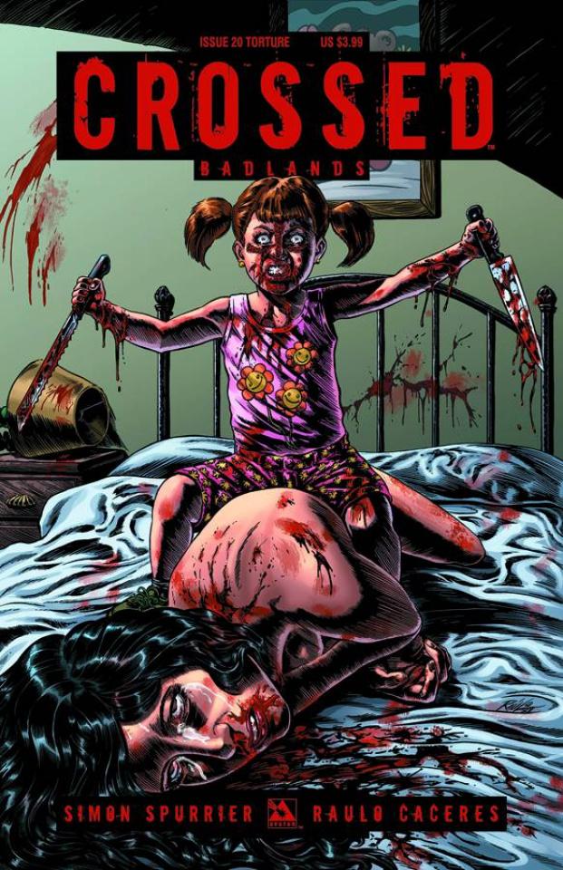 Crossed: Badlands #20 (Torture Cover)