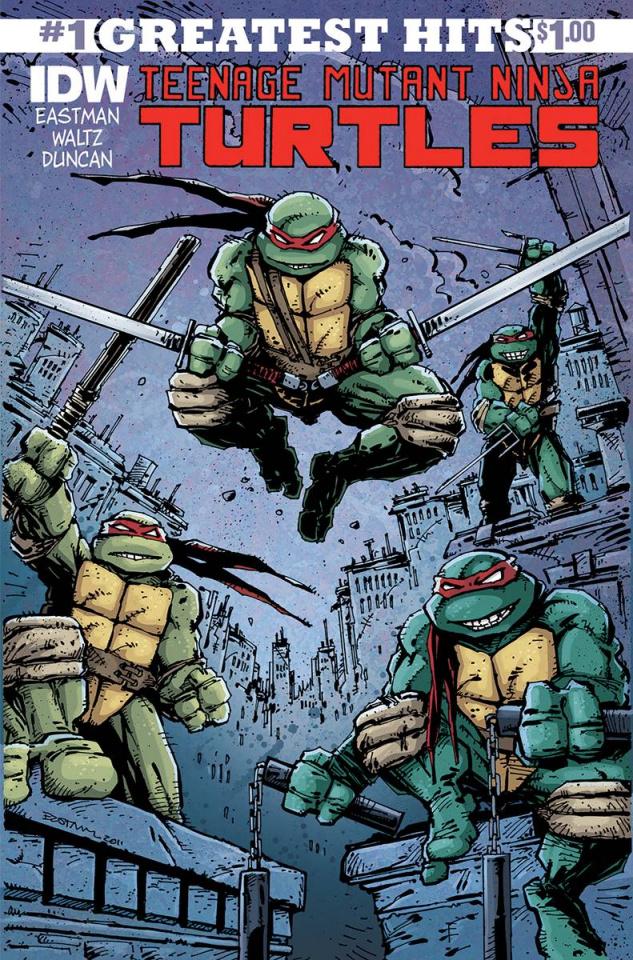 Teenage Mutant Ninja Turtles #1 (IDW Greatest Hits)
