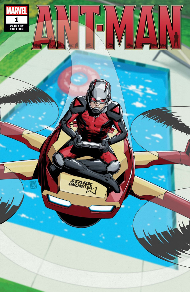 Ant-Man #1 (Christopher Cover)