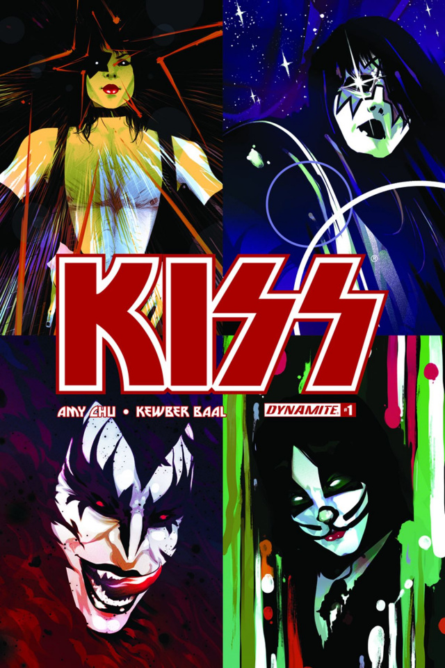 KISS #1 (50 Copy Simmons Stanley Cover)