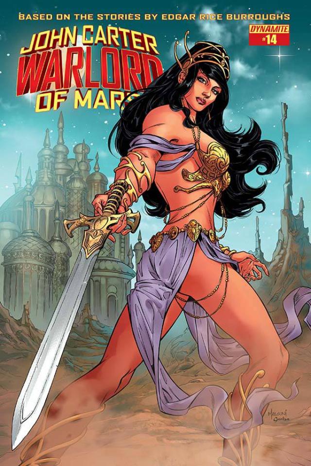 John Carter: Warlord of Mars #14 (Malsuni Cover)