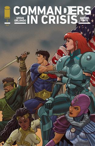 Commanders in Crisis #2 (25 Copy Quinones Cover)