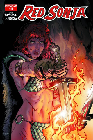 Red Sonja #17 (Isaacs Cover)