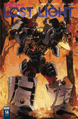 The Transformers: Lost Light #14 (10 Copy Cover)