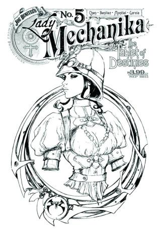 Lady Mechanika: The Tablet of Destinies #5 (10 Copy Benitez Cover)