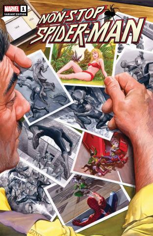 Non-Stop Spider-Man #1 (Alex Ross Cover)