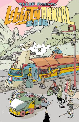 CBLDF Presents: Liberty Annual 2016 (Graham Cover)