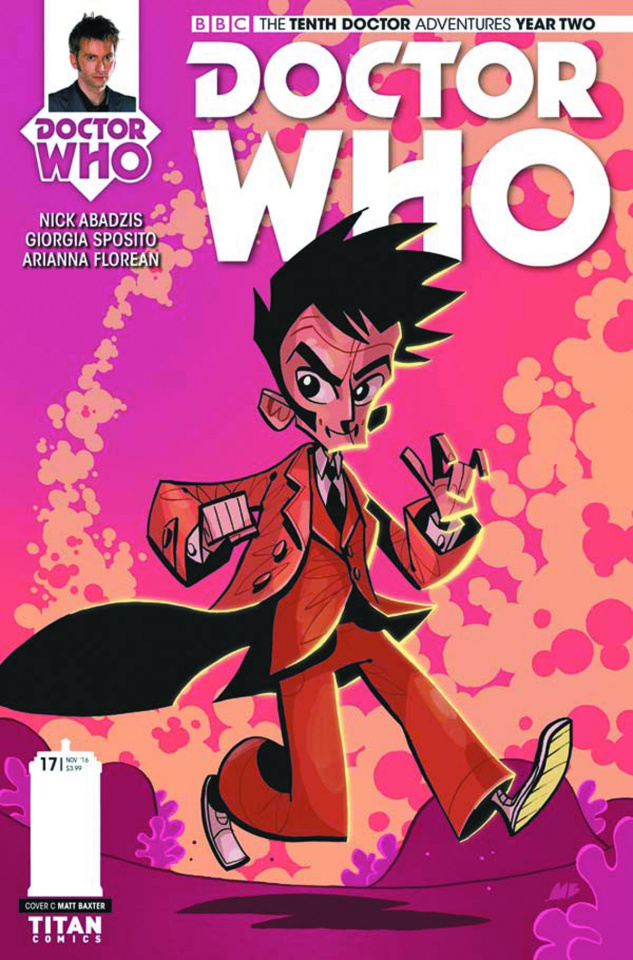 Doctor Who: New Adventures with the Tenth Doctor, Year Two #17 (Baxter Cover)
