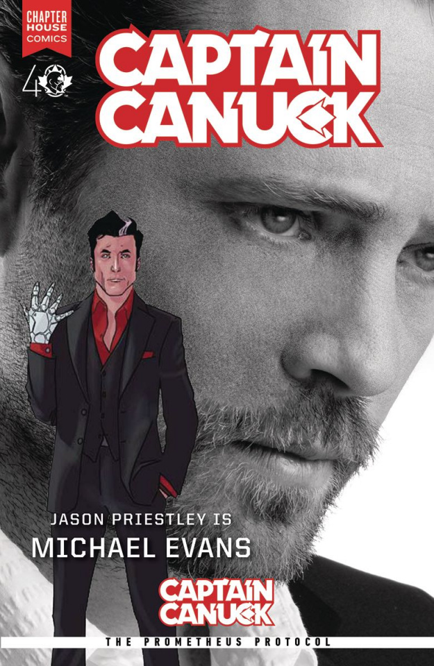 Captain Canuck #10 (Priestley Photo Cover)