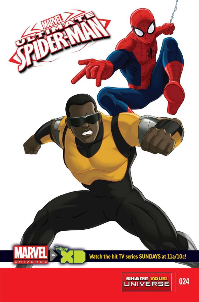 Marvel Universe: Ultimate Spider-Man #24