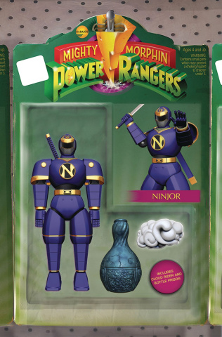 Mighty Morphin' Power Rangers #23 (Unlockable Action Figure Cover)