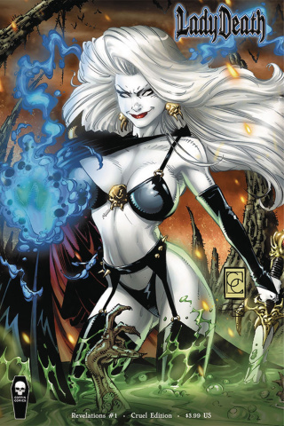 Lady Death: Revelations #1 (Cruel Cover)