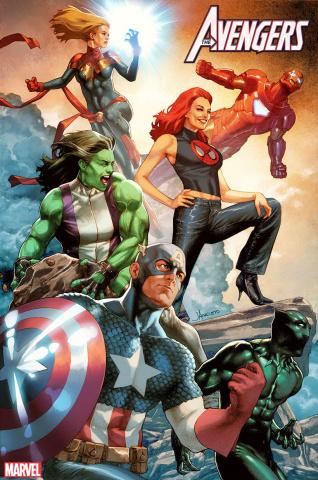 Avengers #25 (Anacleto Mary Jane Cover)