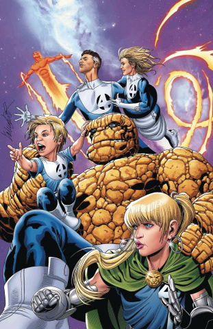 The Punisher #1 (Larroca Return of Fantastic Four Cover)