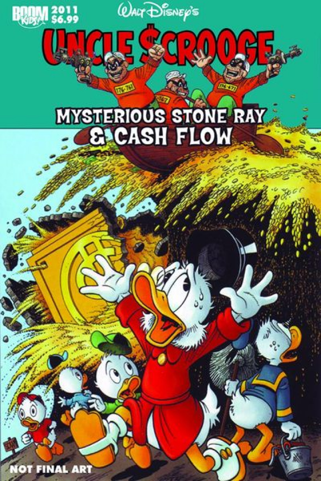 Uncle Scrooge: Mysterious Stone Ray & Cash Flow