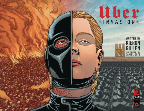 Über: Invasion #13 (Wrap Cover)