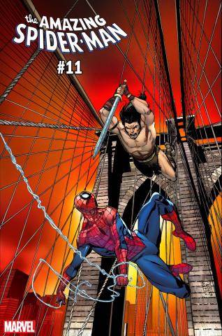 The Amazing Spider-Man #11 (Camuncoli Conan vs. Marvel Cover)