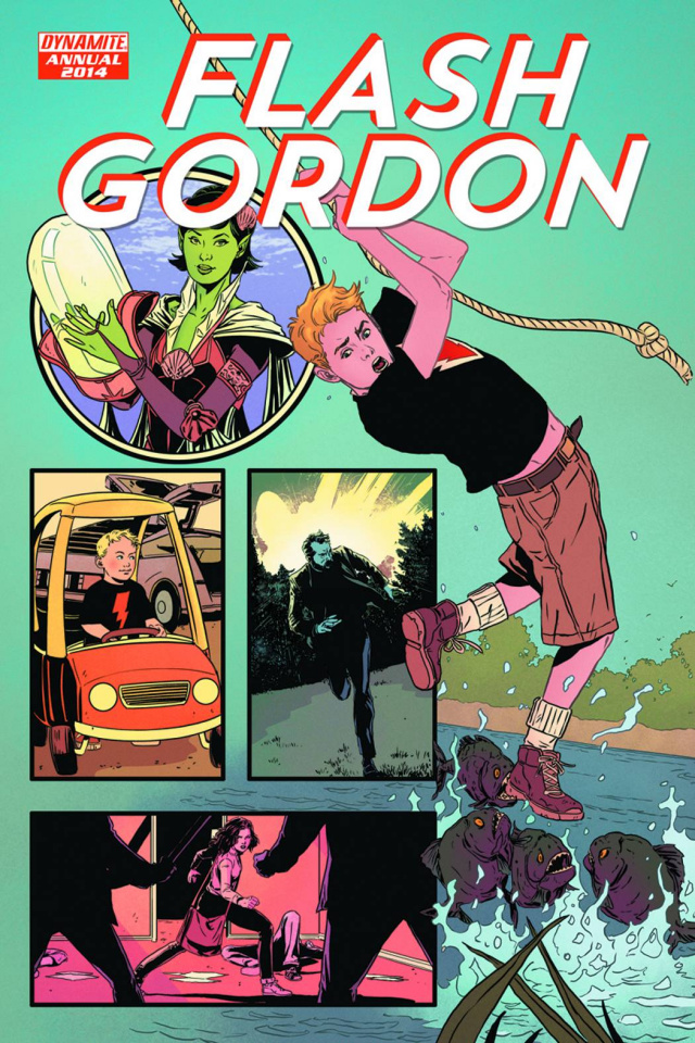 Flash Gordon Annual 2014