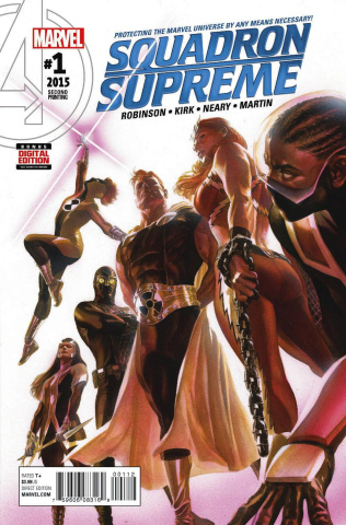 Squadron Supreme #1 (Alex Ross 2nd Printing)