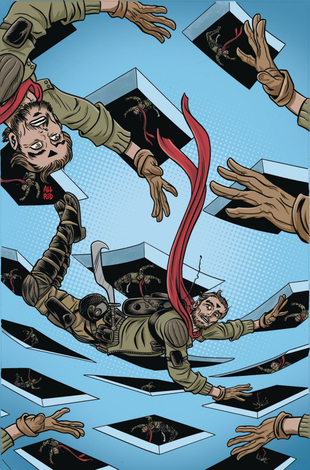 Ether: The Copper Golems #4 (Allred Cover)